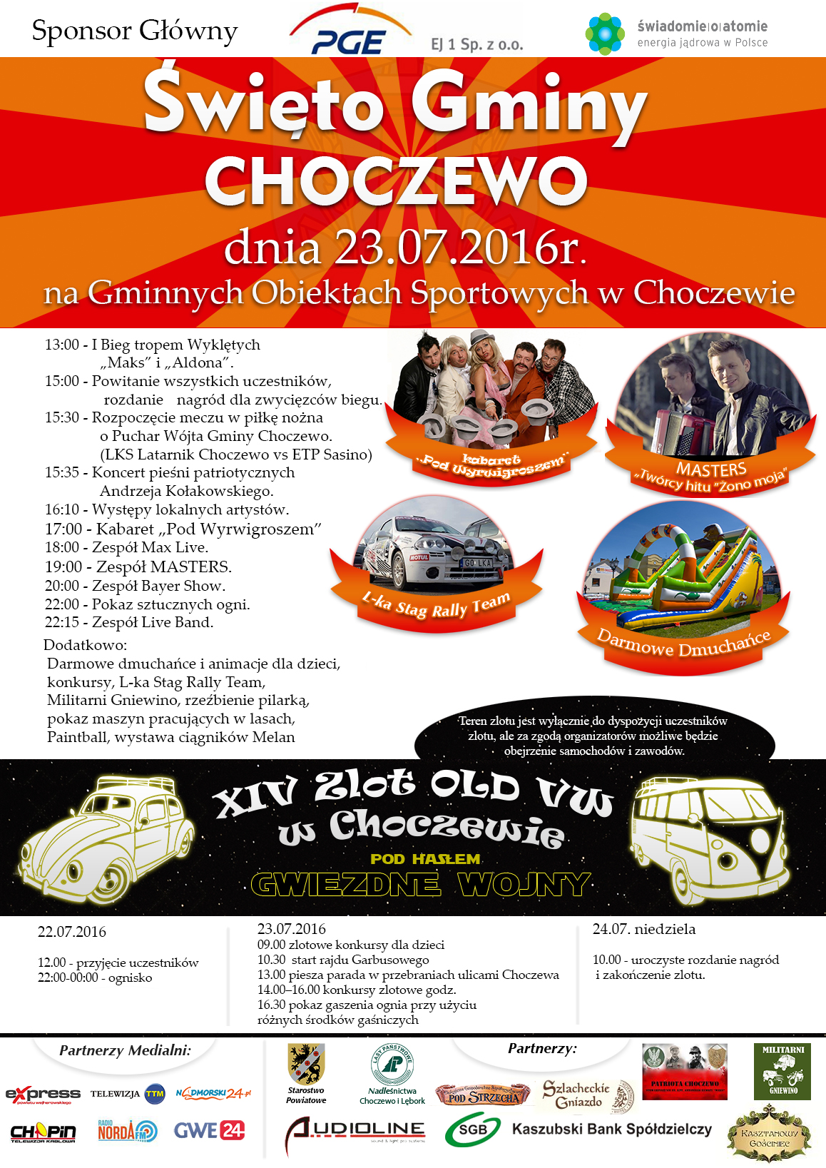 plakat Święto Choczewa 2016