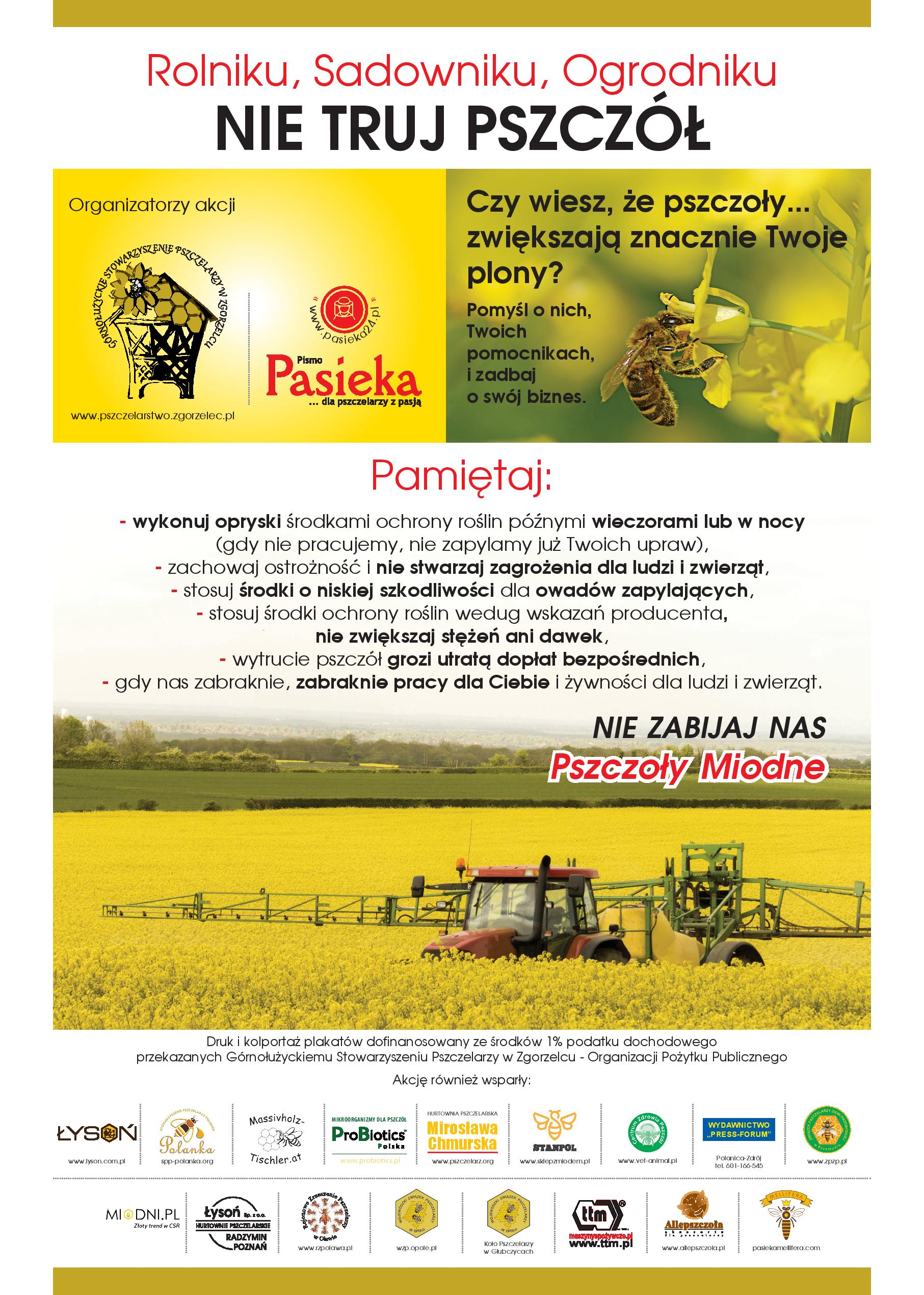 plakat-A3_Rolniku_nie_truj_pszczol